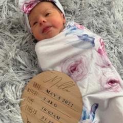 Baby Announcement Plaque